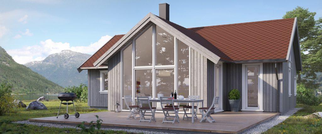 Skeie Bygg Systemhus hytte fritidsbolig Bersagel 2 1920x800