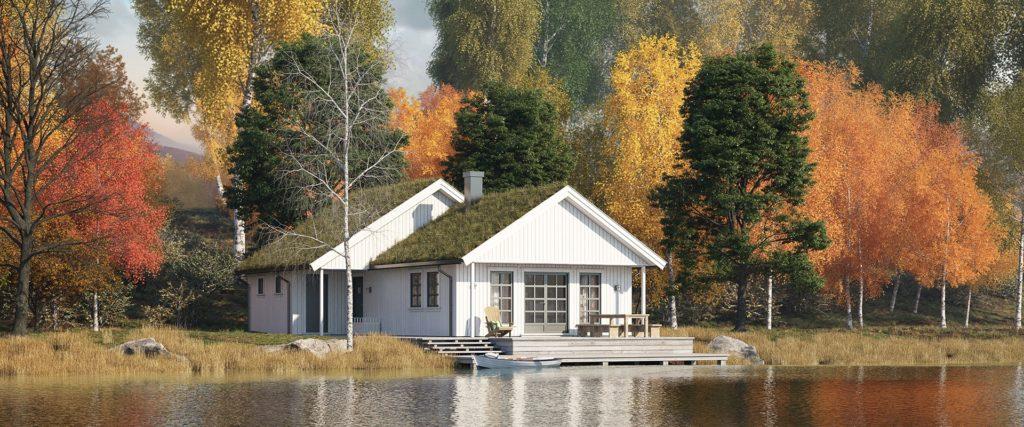 Skeie Bygg Systemhus hytte fritidsbolig Bjornestad 2 1920x800