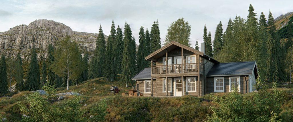 Skeie Bygg Systemhus hytte fritidsbolig Hougestl  1920x800