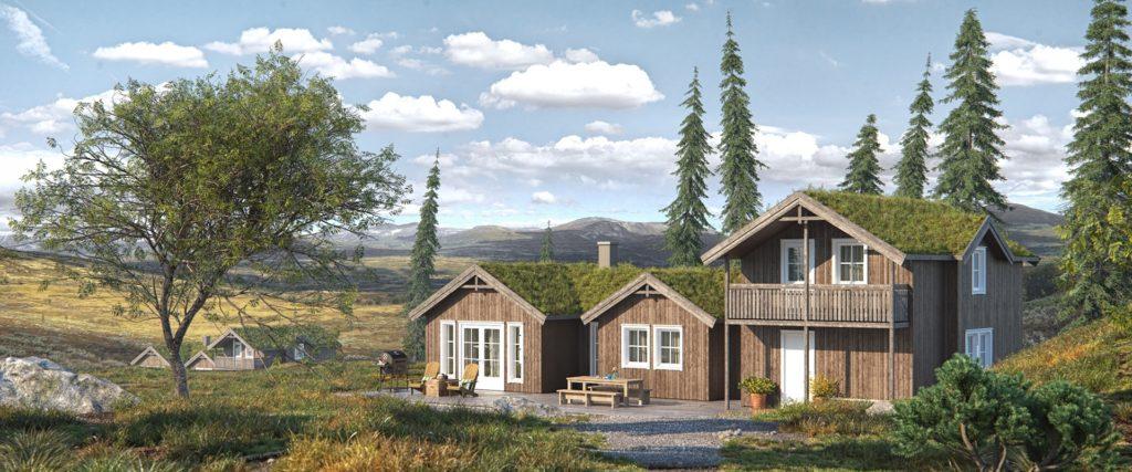 Skeie Bygg Systemhus hytte fritidsbolig fjellheim 1920x800